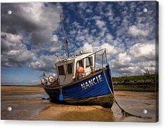 H.m.s. Nancie Acrylic Print by Jann Paxton