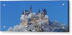 Hohenzollern Castle Germany Acrylic Print by Rudi Prott