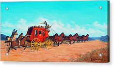 Hold Up Acrylic Print by Tanja Ware