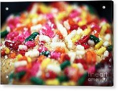 Holiday Cookie Acrylic Print by John Rizzuto