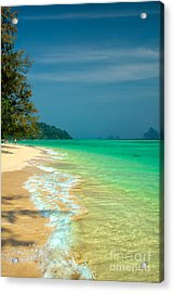 Holiday Destination Acrylic Print by Adrian Evans