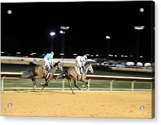 Hollywood Casino At Charles Town Races - 121217 Acrylic Print by DC Photographer