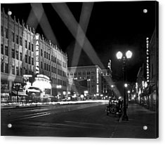 Hollywood Premier Acrylic Print by Underwood Archives