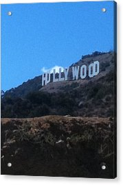 Hollywood Acrylic Print by Selia Hansen