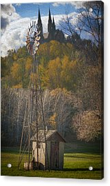 Holy Hill  Wisconsin Acrylic Print by Jack Zulli