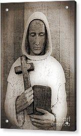 Holy Man Acrylic Print by Edward Fielding