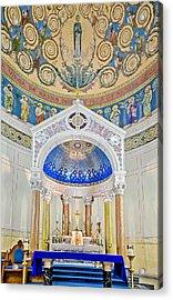 Holy Mary Acrylic Print by Susan Candelario