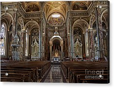 Homage To Pope Francis I Acrylic Print by David Bearden