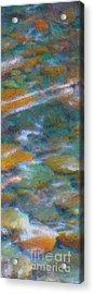Homage To Van Gogh 2 Acrylic Print by Carol Groenen