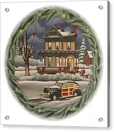 Home For The Holidays Acrylic Print by Catherine Holman