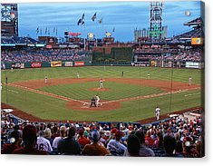 Home Of The Phillies Acrylic Print by Lanis Rossi
