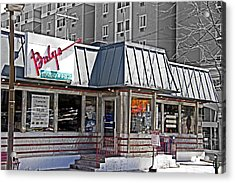 Home Of The Teeny Weenie Acrylic Print by Tom Gari Gallery-Three-Photography