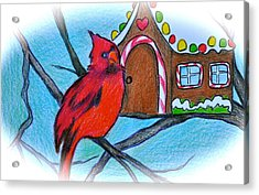 Home Sweet Home Acrylic Print by Debi Starr