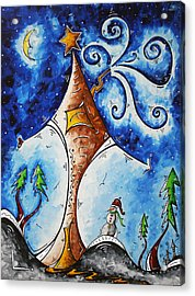 Home Sweet Home Acrylic Print by Megan Duncanson