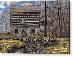 Homestead 5 Acrylic Print by Jack Zulli