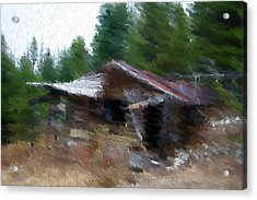 Homesweethome Acrylic Print by Kevin Bone