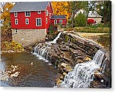 Honeoye Falls 1 Acrylic Print by Aimee L Maher Photography and Art Visit ALMGallerydotcom