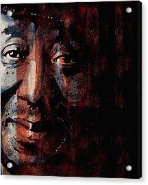 Hoochie Coochie Man Acrylic Print by Paul Lovering