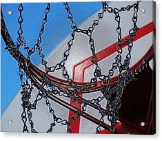 Hoop Dreams Acrylic Print by Andy McAfee