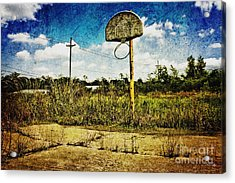 Hoop Dreams Acrylic Print by Scott Pellegrin