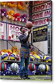 Hoop Shots Acrylic Print by Rory Sagner