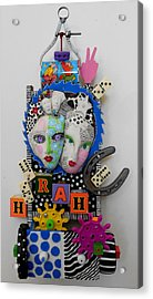 Hoorah For Everything Acrylic Print by Keri Joy Colestock