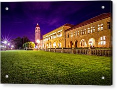 Hoover Tower Stanford University Acrylic Print by Scott McGuire