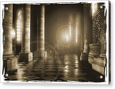 Hope Shinning Through Acrylic Print by Mike McGlothlen
