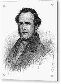 Horace Wells (1815-1848) Acrylic Print by Granger
