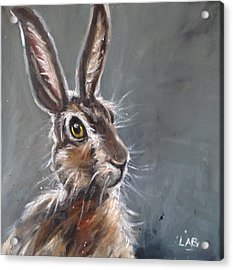 Horatio Hare Acrylic Print by Louise  Brown