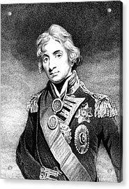 Horatio Nelson Acrylic Print by Collection Abecasis