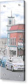 Hortense House Granby Qc Acrylic Print by Wilfrid Barbier