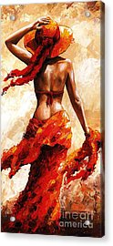 Hot Breeze #02 Acrylic Print by Emerico Imre Toth