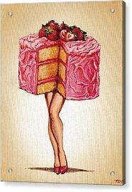 Hot Cakes Acrylic Print by Kelly Gilleran