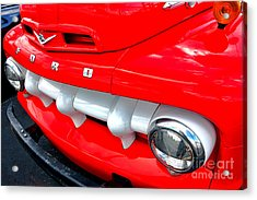Hot Ford Acrylic Print by Olivier Le Queinec