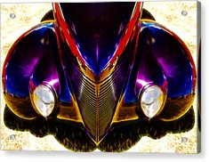 Hot Rod Eyes Acrylic Print by motography aka Phil Clark