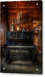 Hotel Piano Acrylic Print by Nathan Wright
