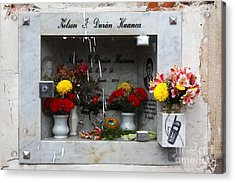Hotline To The Afterlife 2 Acrylic Print by James Brunker