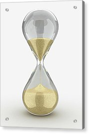 Hourglass Acrylic Print by Alfred Pasieka