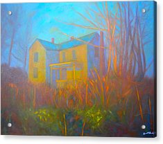 House In Blacksburg Acrylic Print by Kendall Kessler