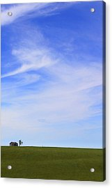 House On The Hill Acrylic Print by Mike McGlothlen