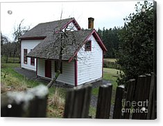House View Acrylic Print by Graham Foulkes