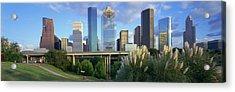 Houston, Texas, Usa Acrylic Print by Panoramic Images