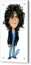 Howard Stern Acrylic Print by Art