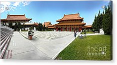Hsi Lai Temple - 08 Acrylic Print by Gregory Dyer