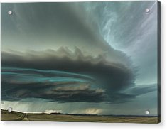 Huge Supercell Acrylic Print by Guy Prince