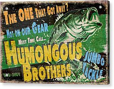 Humongous Brothers Acrylic Print by JQ Licensing