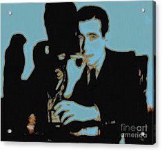 Humphrey Bogart And The Maltese Falcon 20130323p88 Acrylic Print by Wingsdomain Art and Photography