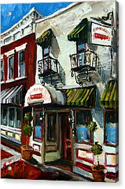 Humphreys Bar And Grill Acrylic Print by Carole Foret