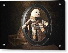 Humpty Dumpty Acrylic Print by Tom Mc Nemar